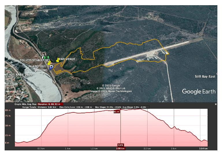 stillbaai map